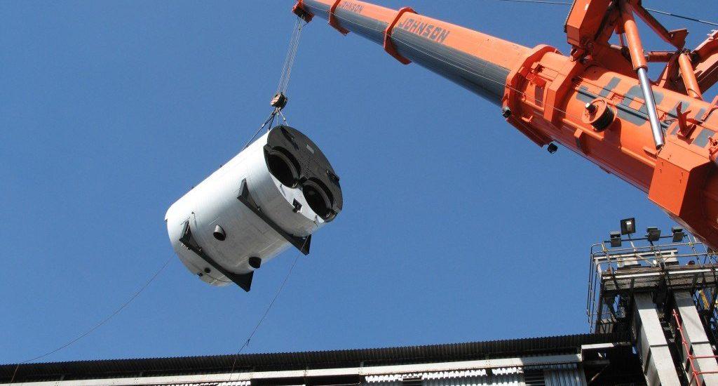 Içamento de cargas gancho para amarração de carga