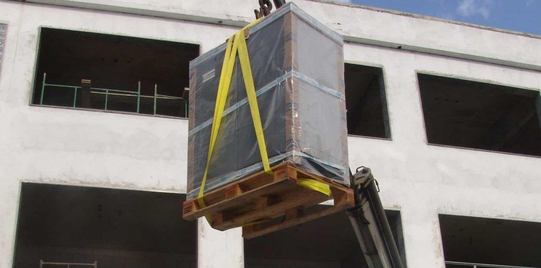 cinta de elevação de carga